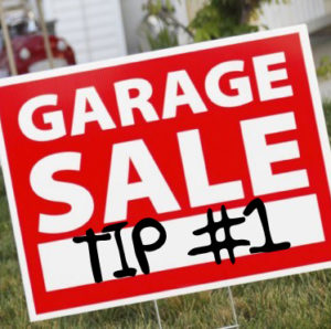 Garage Sale Tip #1 – How Assumptions Can Steal Your Profits