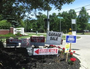 The garage sales are out there... Go find 'em!