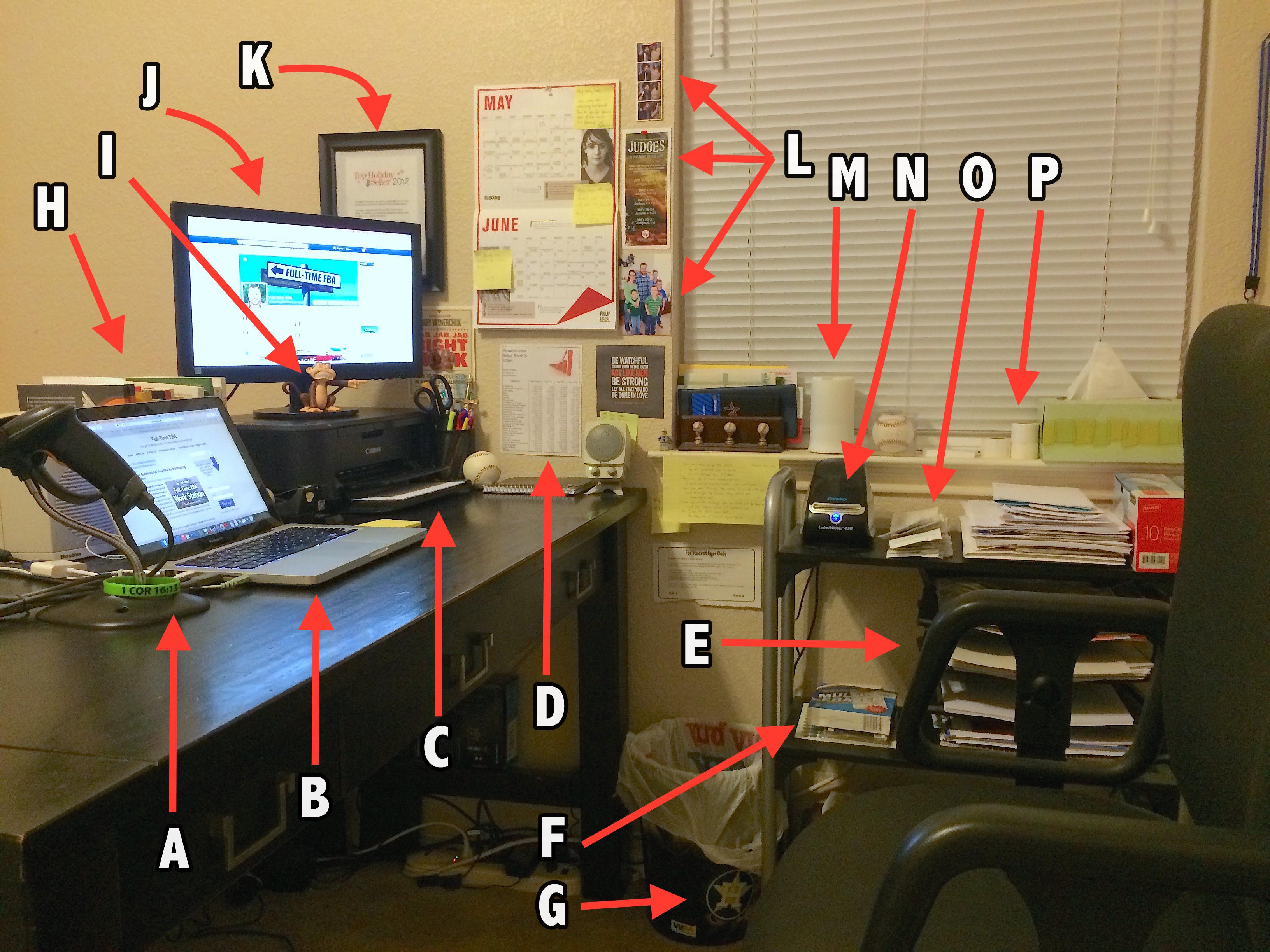 Desk Diagram