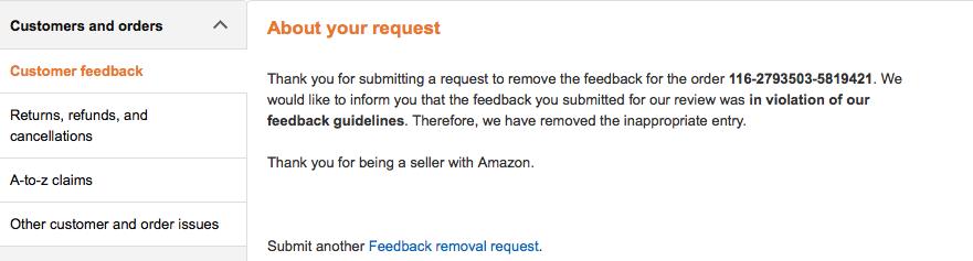Feedback Removal