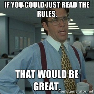 Read-the-Rules