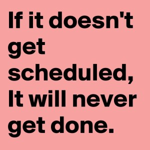 If-it-doesn-t-get-scheduled-It-will-never-get-done