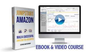 Jumpstart Amazon: Build a successful Amazon FBA business is a combination of video course (10+ hours) and eBook (200+ pages).
