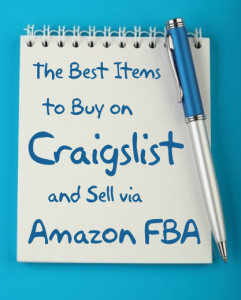 The Best Items to Buy on Craigslist and Sell via Amazon FBA