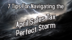 April Sales Tax