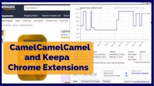 Using the CamelCamelCamel and Keepa Google Chrome Extensions