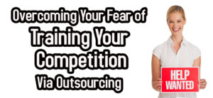 Fear of Training Your Competition