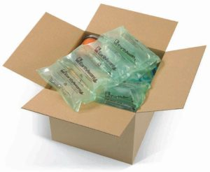 AirPouch-Open-Box-w-EarthAware-Biodegradable-Pillows