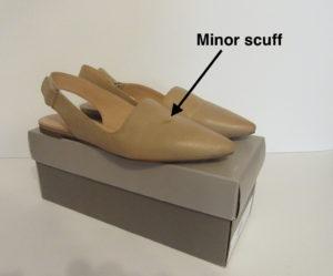 Shoes Minor Scuff