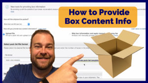 How to Provide Box Level Details on Amazon FBA Shipments