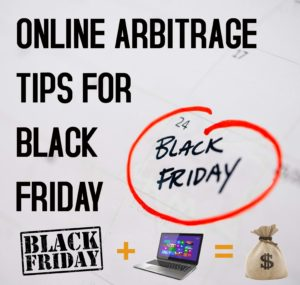 Online Arbitrage Tips for Black Friday