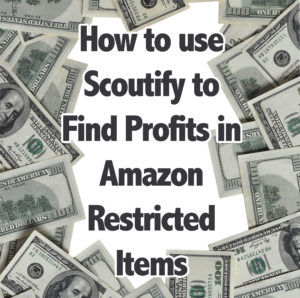 How to use Scoutify to Find Profits in Amazon Restricted Items
