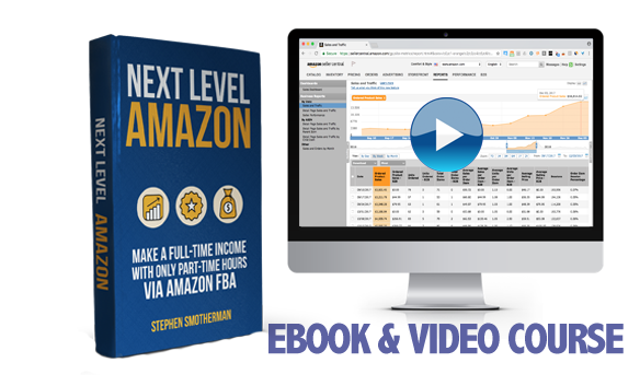 Next Level Amazon: Make a full-time income with only part-time hours via Amazon FBA.