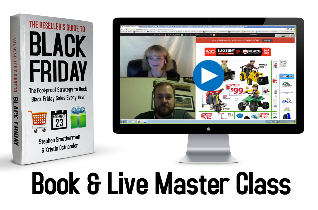 The Reseller's Guide to Black Friday: The fool-proof strategy to rock black Friday sales every year.