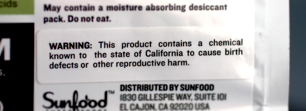 How to Handle California Proposition 65 (Prop 65) Warning in