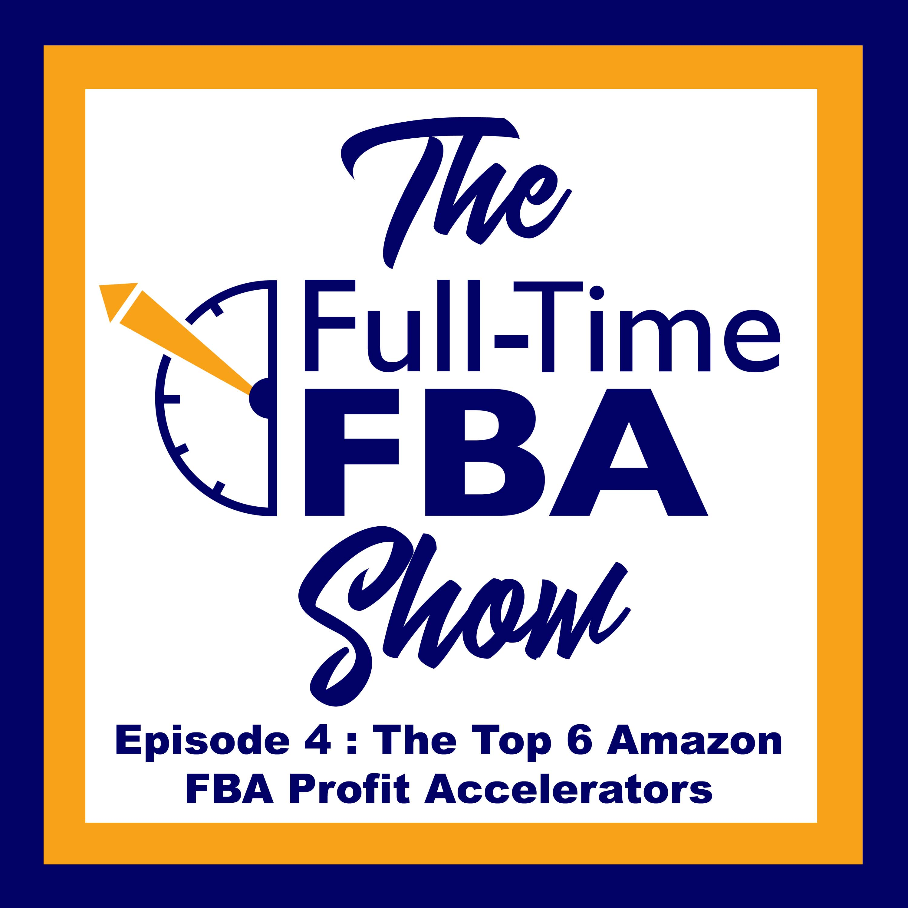 Podcast Episode 004 : The Top 6 Amazon FBA Profit